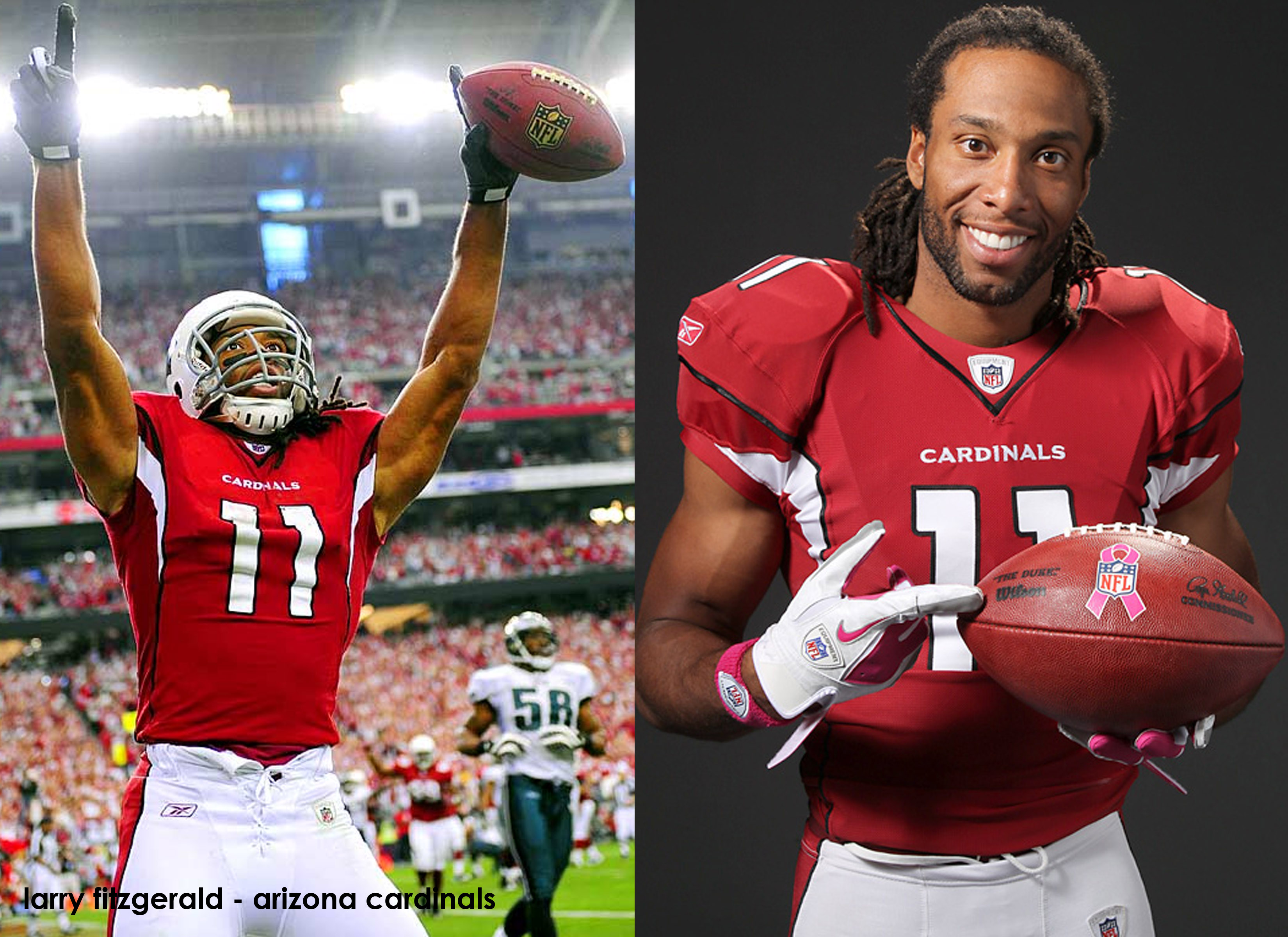sale retailer ce62c 79695 larry fitzgerald | The M.A.D. Girls, Inc