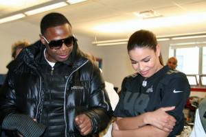 Doug E Fresh & Jordin Sparks at Super Fun Super Fit event, JSE2014