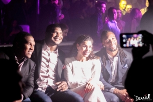 Dan Williams, Calais Campbell, Jordin Sparks, Larry Fitzgerald.  RWB Party JSE2015.